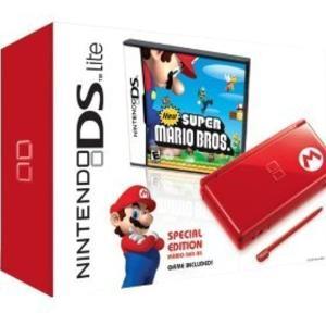 輸入品・北米「限定版」 Nintendo DS Super Mario Bundle 本体+マリオニンテンドーDS スーパーマリオ zebrand-shop
