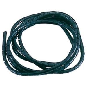 スパイラルチューブ[800301](ブラック, 2m)|zebrand-shop