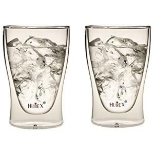 Hurex 耐熱ダブルウォールグラス 300ml 2個セット[HU-M6158*2]