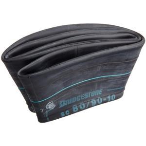 ブリヂストンバイクタイヤチューブ 80/90*3.00-10 バルブ形状:TR87 リム径:10インチ SCSC9004[[SCSC9004]]|zebrand-shop