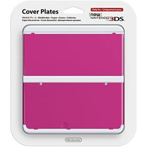 きせかえプレート ピンク New ニンテンドー3DS用[KTR-A-CPBB](NO.032, Nintendo 3DS)|zebrand-shop