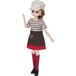 ミスタードーナツショップの店員さんドレスセットです。*人形は別売です。 ・製品コード/4904810...