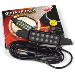簡単 アコースティックギター を エレアコ に。ギター ピックアップ 穴開け加工不要|zebrand-shop