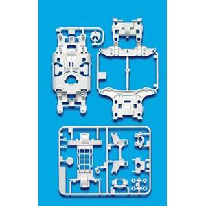 ミニ四駆特別企画商品 MS強化シャーシセット ホワイト 95246[95246-000]