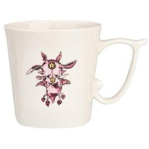 実用的でオシャレなデザインのコーヒーカップです。 取っ手の部分が(J)になっています。 サイズ:全高...