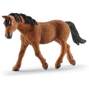 ・ドイツのシュライヒ社が制作した農場動物シリーズのバシキールカーリーの雌(雌馬牝馬BashkirCu...