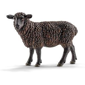 ・ドイツのシュライヒ社が制作した農場動物シリーズの黒ひつじ(黒羊ヒツジBlacksheep)のフィギ...