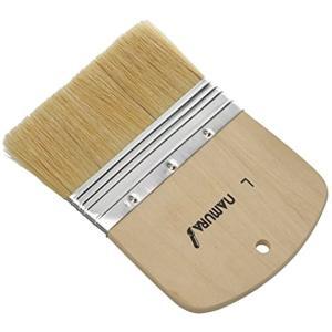 穂先サイズ:105×54mm 使用用途: 油彩画 筆の固さ: かたい 素材: ブタ毛 絵具の含み: ...