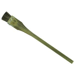 穂先サイズ:13×11mm 使用用途: デザイン・日本画 筆の固さ: ふつう 素材: 馬毛 絵具の含...