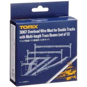 TOMIX Nゲージ マルチ複線トラス架線柱 12本セット 鉄道模型用品[3007]|zebrand-shop