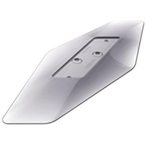 透過性のある素材を用い、縦置きしたPS4およびPS4 Proの影をモチーフに、本体を引き立たせるデザ...