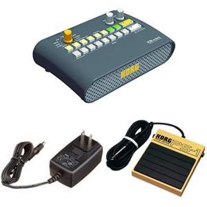 リズムマシン KR mini ACアダプター&ペダルセット|zebrand-shop