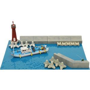 ジオコレ 情景コレクション 情景小物123 海辺の情景セットB ジオラマ用品[263081]|zebrand-shop