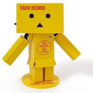 「リボルテックダンボ―・ミニ TOWER RECORDS ver.」は、全身5か所が可動し、目が光る...