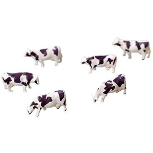 ジオコレ 情景コレクション ザ・動物102 乳牛 ジオラマ用品[266075]|zebrand-shop