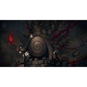 仕掛けがいっぱいの古城の中で、少女と巨人が脱出行を繰り広げる謎解きアクション 「血の力」で物体の時間...