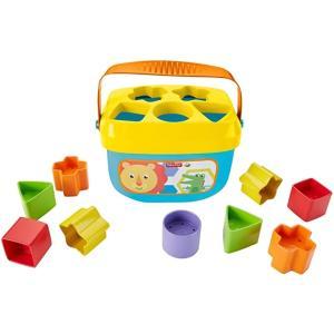 カラフルブロックを形あわせで入れて 小さな手に持ちやすくて遊びやすい 0種のカラフルブロックを並べて...