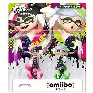 amiibo スプラトゥーンシリーズ[4902370532722](シオカラーズセット[アオリ/ホタル], Nintendo 3DS)|zebrand-shop