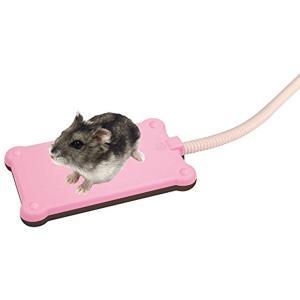 リバーシブルで使える小動物用のヒーターです。  ハムスター、リス、ハリネズミに ぽっかぽかで寒さから...
