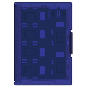 「PSV対応」スリムカードケース12+4 for ダークブルー[PSV-161](PlayStation Vita)|zebrand-shop