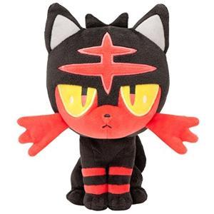 Pokemon Sun Moon Litten Plush Stuffed Doll 18cm Po...