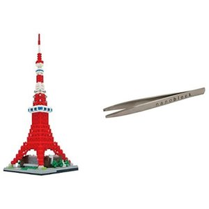 ナノブロック 東京タワー デラックスエディション NB-022 ナノブロック専用ピンセット付き