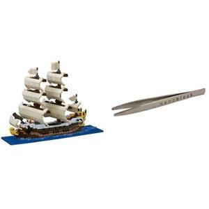 ナノブロック 帆船 NB-030 ナノブロック専用ピンセット付き