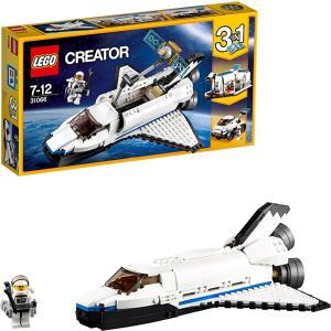 クリエイター スペースシャトル 31066|zebrand-shop