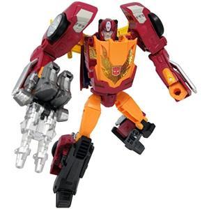 レジェンズシリーズのヘッドマスター戦士がターゲットマスターとなって進化。 新たに新規設計のパーツを加...