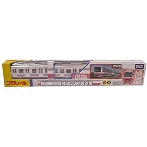 新京成電鉄N800形四次車プラレールの四次車ができました。 三次車までは行き先が「松戸」でありました...