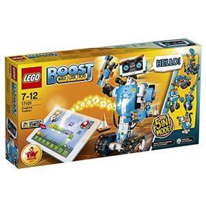 レゴブーストのクリエイティブ・ボックスでレゴの世界を広げよう。 おしゃべりロボット・バーニーを組み立...