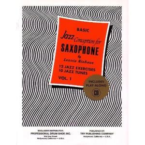 ベーシック・ジャズコンセプション サクソフォン 第1巻 CD付き TRY1057の画像