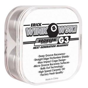 WINKOWSKI PRO Bronson G3 ベアリング ブロンソン スケートボード スケボー ...