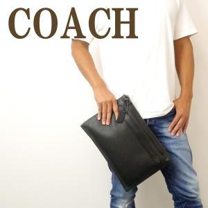 コーチ COACH バッグ メンズ ショルダーバッグ 斜め掛け 2way クラッチバッグ 2way ブラック黒 11039QBBK|zeitakuya