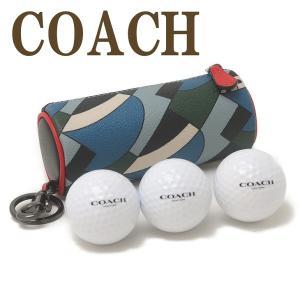 コーチ COACH ゴルフポーチ メンズ ボール セット キーリング レザー レディース 1269QBR0V|zeitakuya