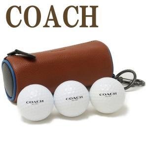 コーチ COACH ゴルフポーチ メンズ ボール セット キーリング レザー レディース 1271QBR0M|zeitakuya
