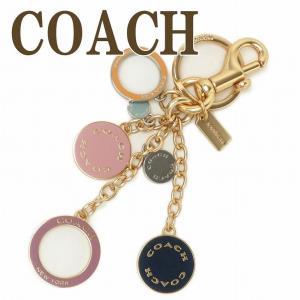 コーチ COACH キーホルダー レディース キーリング バッグチャーム ロゴ ピンク 1596IML38  ネコポス|zeitakuya