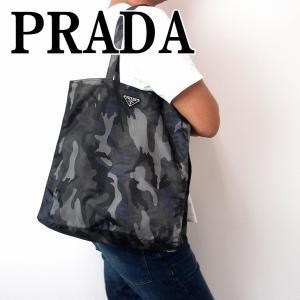 プラダ PRADA バッグ メンズ トートバッグ 迷彩 1BG626-2BAX-F0170|zeitakuya