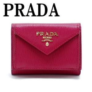 プラダ PRADA 財布 三つ折り財布 レディース VITELLO MOVE 1MH021-2EZZ-F0BA8|zeitakuya