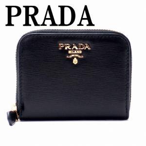 プラダ PRADA コインケース 財布 小銭入れ ラウンドフ...