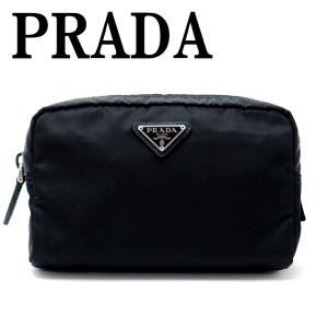 プラダ PRADA ポーチ コスメポーチ 化粧ポーチ 小物 ロゴ 1NA021-2BQP-F0002|zeitakuya