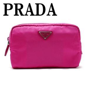 プラダ PRADA ポーチ コスメポーチ 化粧ポーチ 小物 ロゴ 1NA021-2BQP-F0029|zeitakuya