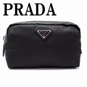 プラダ PRADA ポーチ コスメポーチ 化粧ポーチ 小物 ロゴ 1NA021-2BQP-F0192|zeitakuya