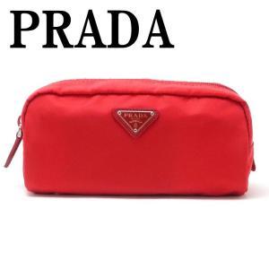 プラダ PRADA ポーチ コスメポーチ 化粧ポーチ ピンク 小物 ロゴ 1NA350-2BQP-F0011|zeitakuya