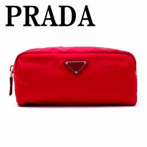 プラダ PRADA ポーチ コスメポーチ 化粧ポーチ PEONIA 小物 ロゴ 1NA350-ZMX-F0011|zeitakuya
