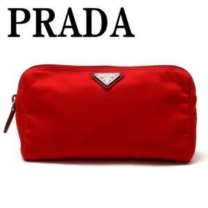 プラダ PRADA ポーチ コスメポーチ 化粧ポーチ 小物 ロゴ 1NA693-2BQP-F0011|zeitakuya
