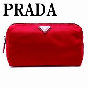 プラダ PRADA ポーチ コスメポーチ 化粧ポーチ 小物 ロゴ 1NA693-2BQP-F068Z|zeitakuya