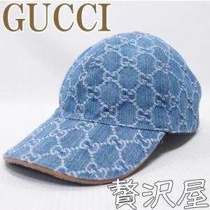 グッチ GUCCI 帽子 キャップ レディース 女性用 GGデニム GUCCI 200043-FQY1G-8692|zeitakuya