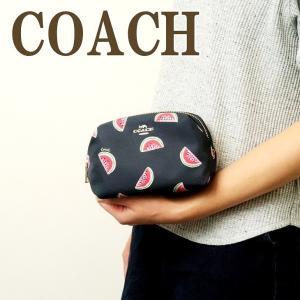 コーチ COACH ポーチ コスメポーチ 化粧ポーチ クラッチポーチ スイカ ウォーターメロン 2019SVQZT|zeitakuya