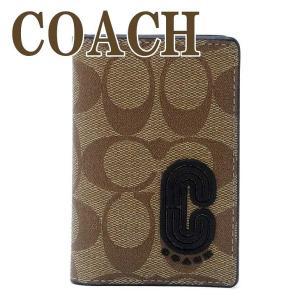 コーチ COACH カードケース メンズ IDケース パスケース 定期入れ シグネチャー レザー 2040QBTAL  ネコポス|zeitakuya